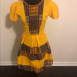 Other - Vintage custom made African shirt/dress